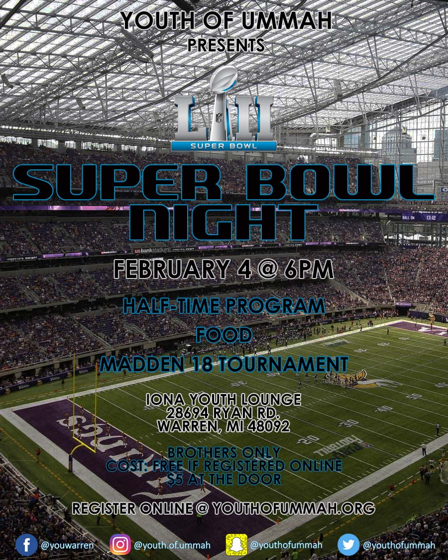 Super Bowl Night 2018